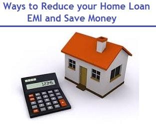 Reduce EMI under PMAY